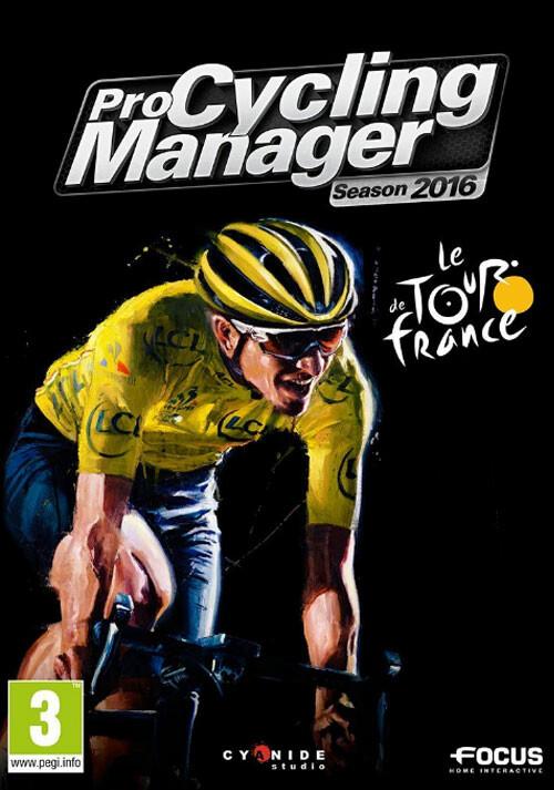 Pro Cycling Manager - Tour de France 2016 - Cover / Packshot