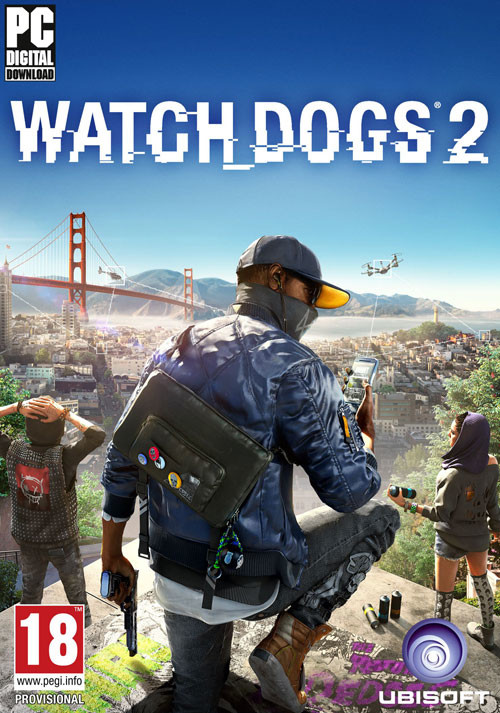 Watch_Dogs 2 - Cover / Packshot