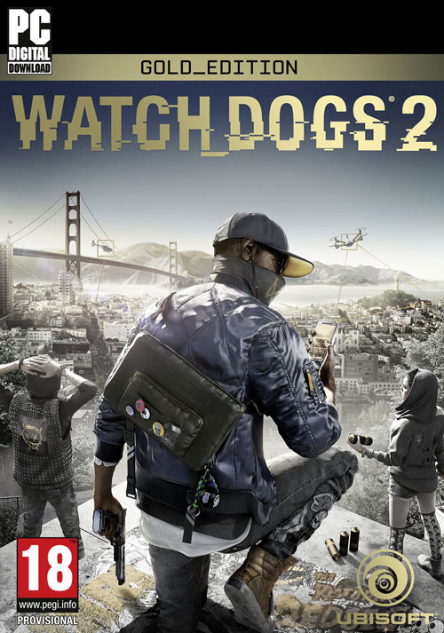 Watch_Dogs 2 - Gold Edition - Cover / Packshot