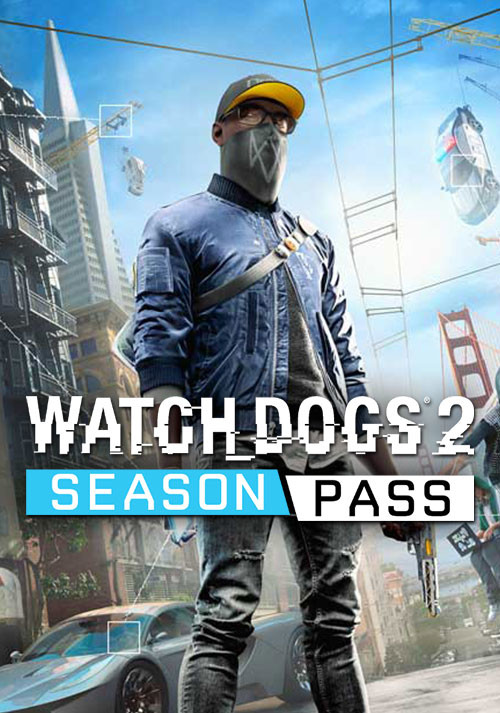 Watch_Dogs 2 - Season Pass - Cover / Packshot
