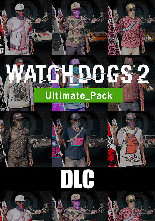 Watch_Dogs 2 - Ultimate Pack - Packshot