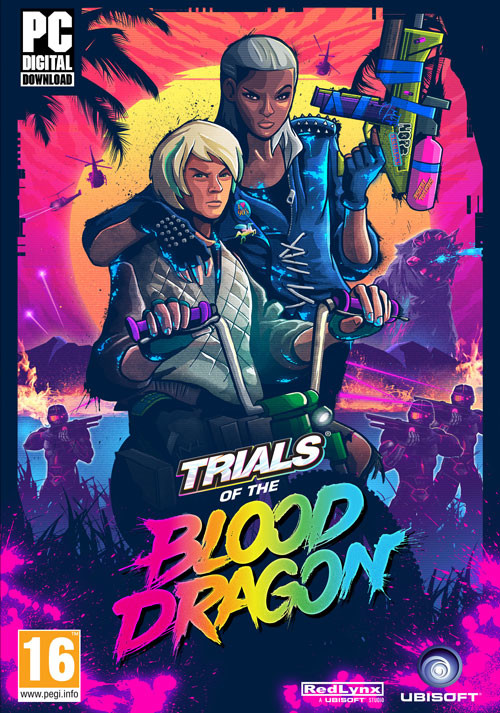 Trials of the Blood Dragon - Cover