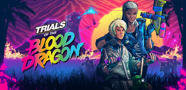 Trials of the Blood Dragon - Cover / Packshot
