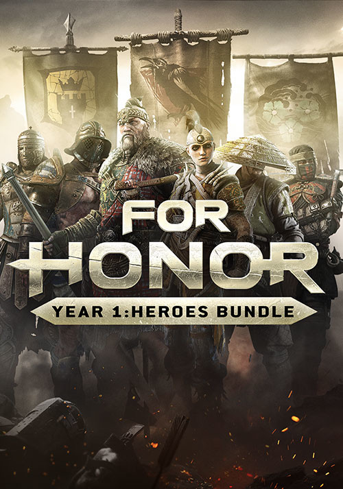 FOR HONOR - Year 1: Heroes Bundle - Cover