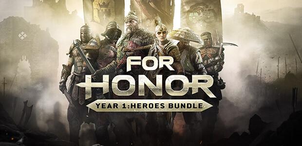 FOR HONOR - Year 1: Heroes Bundle - Cover / Packshot