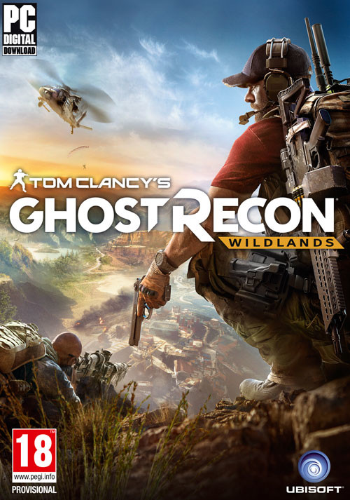 Tom Clancy's Ghost Recon Wildlands - Cover
