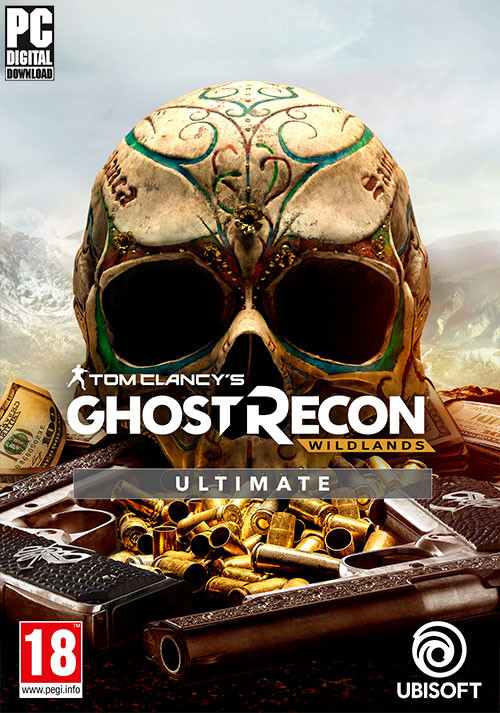 Tom Clancy's Ghost Recon Wildlands Ultimate Edition - Cover