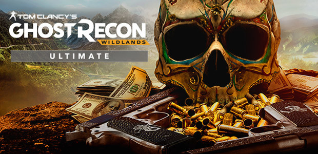 Tom Clancy's Ghost Recon Wildlands Ultimate Edition - Cover / Packshot