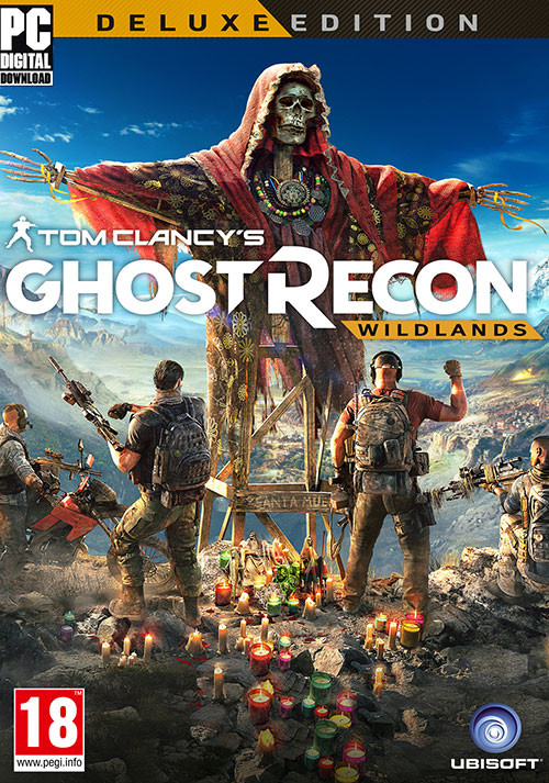 Tom Clancy's Ghost Recon Wildlands Deluxe Edition - Packshot