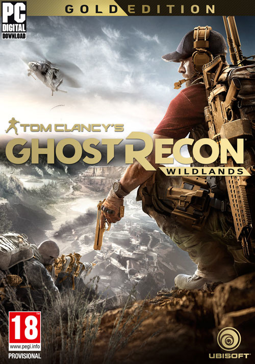 Tom Clancy's Ghost Recon Wildlands Gold Edition - Packshot