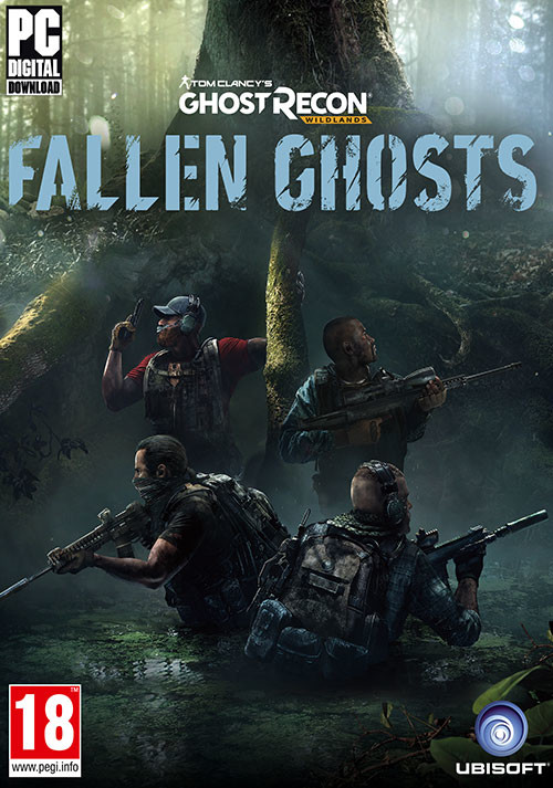Tom Clancy's Ghost Recon Wildlands - Fallen Ghosts - Cover