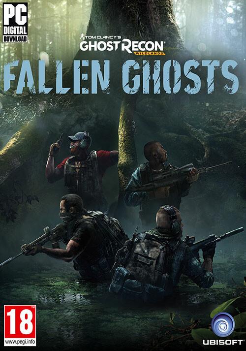 Tom Clancy's Ghost Recon Wildlands - Fallen Ghosts - Packshot