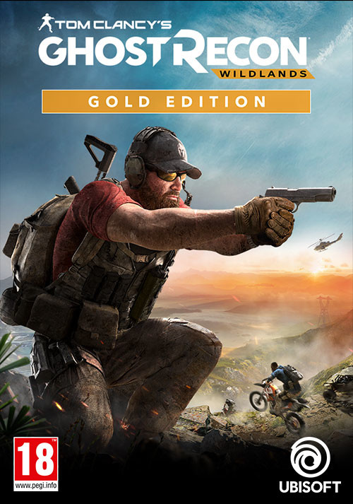Tom Clancy's  Ghost Recon Wildlands Gold Year 2 Edition - Cover