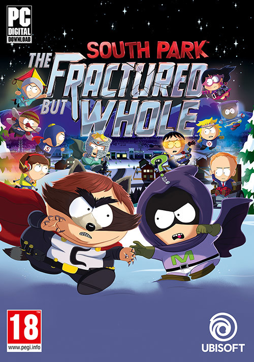South Park: The Fractured but Whole - Cover