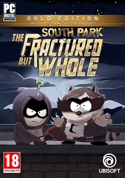 South Park: The Fractured but Whole Gold Edition - Cover