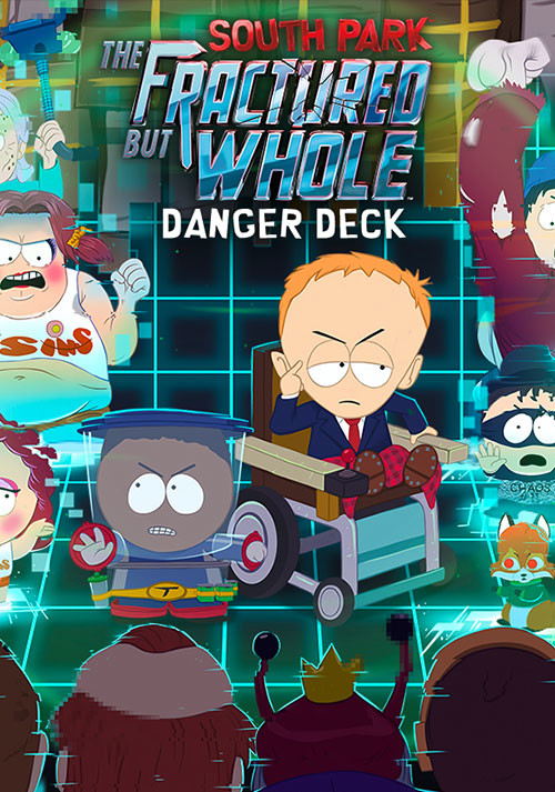 South Park: The Fractured But Whole - Danger Deck   - Cover