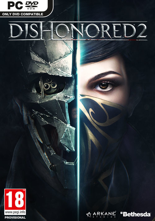Dishonored 2 - Cover / Packshot