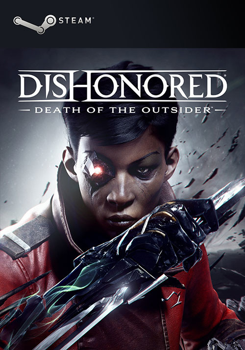 Dishonored: Death of the Outsider - Cover / Packshot
