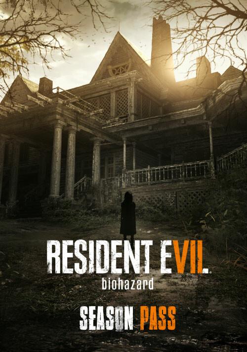 RESIDENT EVIL 7 / Biohazard 7 - Season Pass - Cover / Packshot