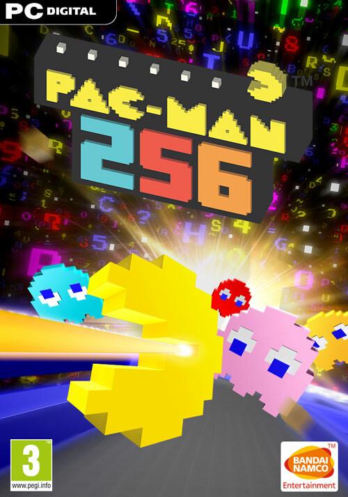 PAC-MAN 256 - Cover / Packshot