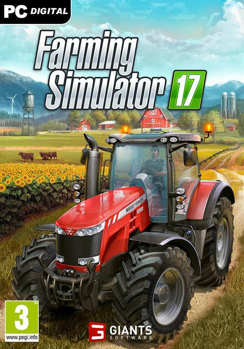 Farming Simulator 17 (Steam) - Cover / Packshot