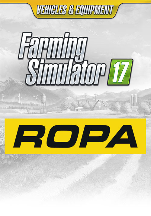 Farming Simulator 17 - ROPA Pack (Giants) - Cover / Packshot
