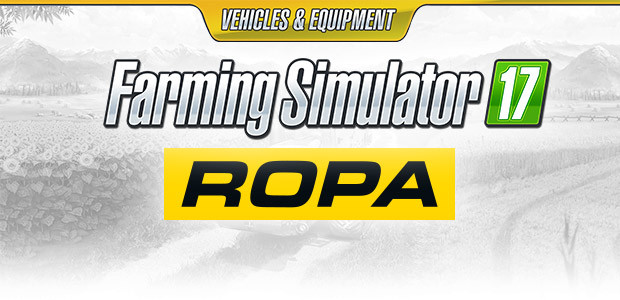 Farming Simulator 17 - ROPA Pack (Giants) - Cover / Packshot