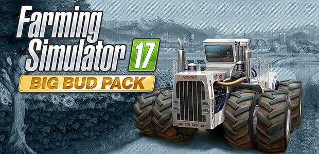 Farming Simulator 17 - Big Bud Pack (Steam) - Cover / Packshot
