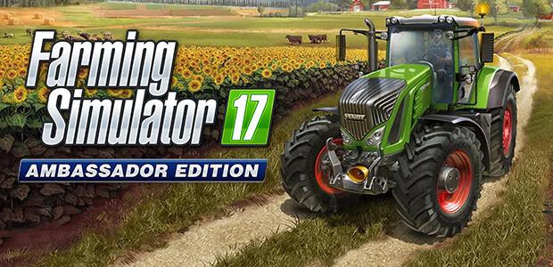 Farming Simulator 17 Ambassador Edition (Giants) - Cover / Packshot