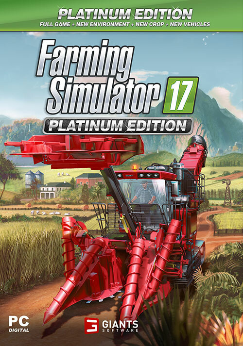 Farming Simulator 17 - Platinum Edition (Steam) - Cover / Packshot