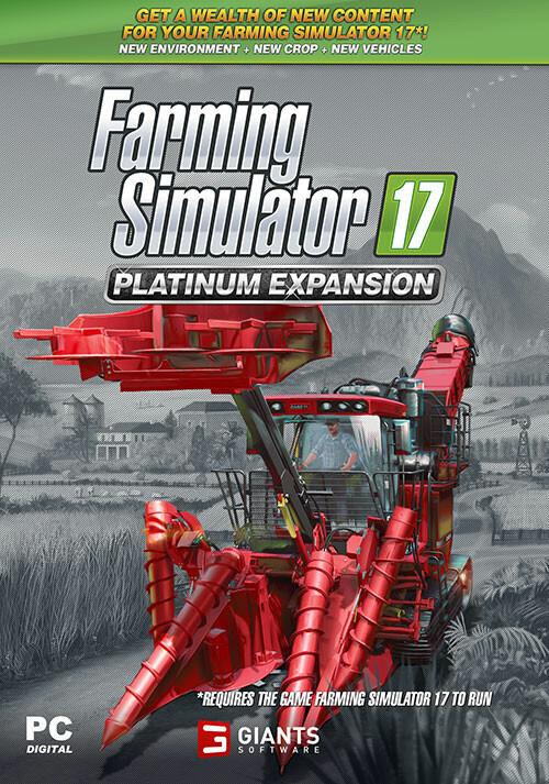 Farming Simulator 17 - Platinum Expansion (Steam) - Cover / Packshot