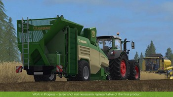 Screenshot10 - Farming Simulator 17 - Add-On Récolte de paille