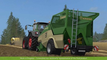 Screenshot12 - Farming Simulator 17 - Add-On Récolte de paille