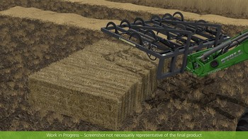 Screenshot1 - Farming Simulator 17 - Add-On Récolte de paille