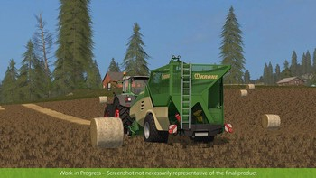 Screenshot6 - Farming Simulator 17 - Add-On Récolte de paille