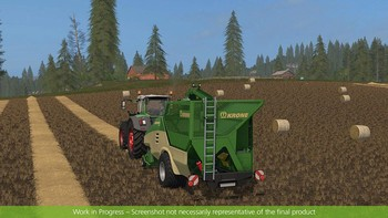 Screenshot7 - Farming Simulator 17 - Add-On Récolte de paille