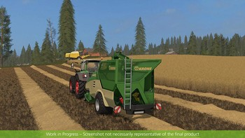 Screenshot8 - Farming Simulator 17 - Add-On Récolte de paille