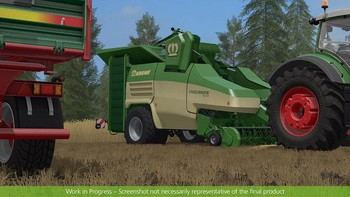 Screenshot9 - Farming Simulator 17 - Add-On Récolte de paille