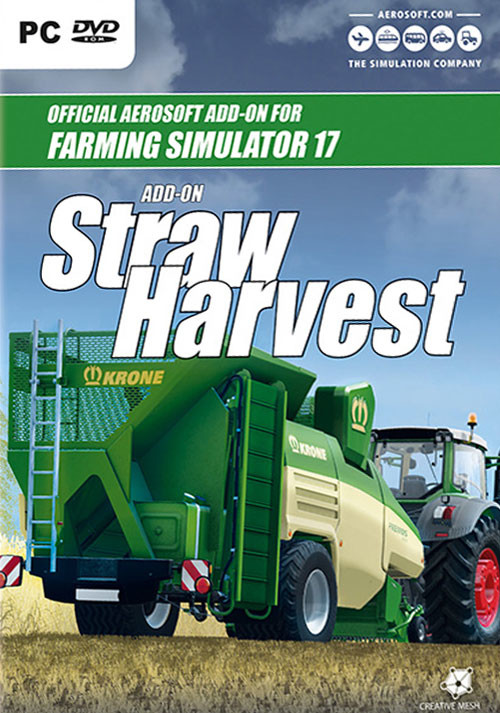 Farming Simulator 17 - Add-On Straw Harvest - Cover / Packshot