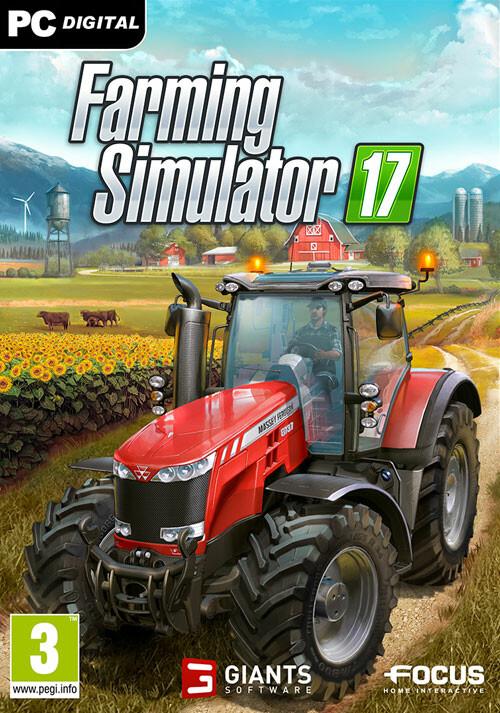 Farming Simulator 17 (Giants) - Cover / Packshot