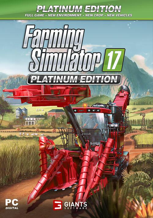 Farming Simulator 17 - Platinum Edition (Giants) - Cover / Packshot