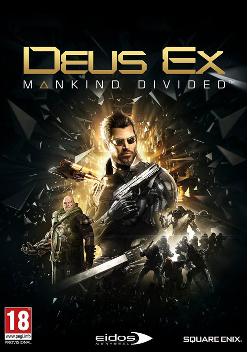 Deus Ex: Mankind Divided - Cover