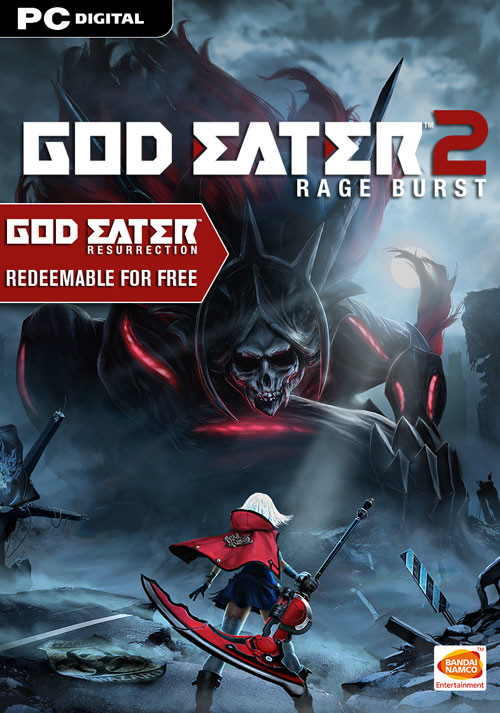 GOD EATER 2 Rage Burst - Cover / Packshot