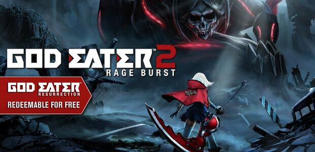 GOD EATER 2 Rage Burst - Cover / Packshot