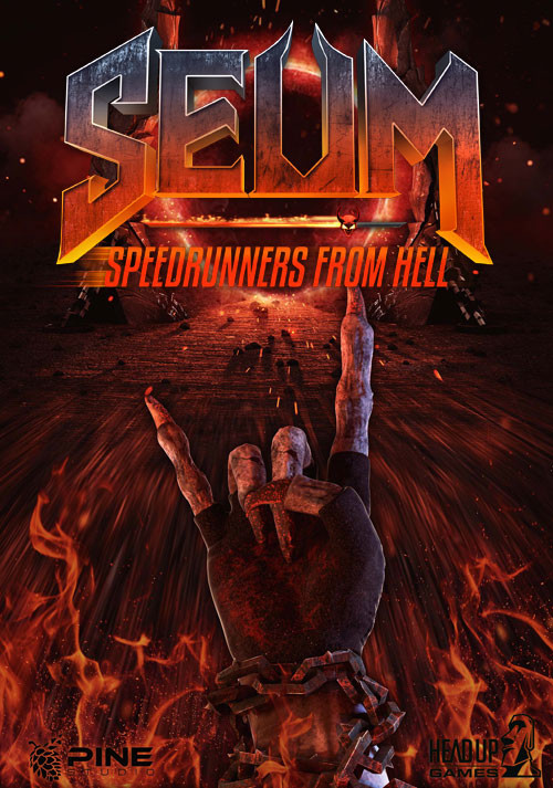 SEUM: Speedrunners from Hell - Cover / Packshot