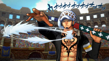 Screenshot2 - One Piece Burning Blood
