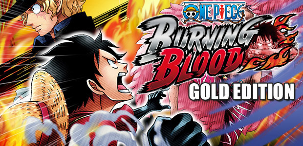 One Piece Burning Blood Gold Edition - Cover / Packshot