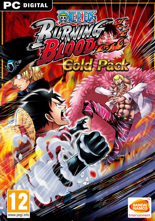 One Piece Burning Blood - Gold Pack - Cover