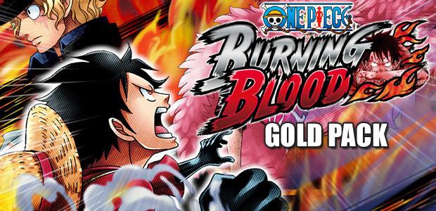 One Piece Burning Blood - Gold Pack