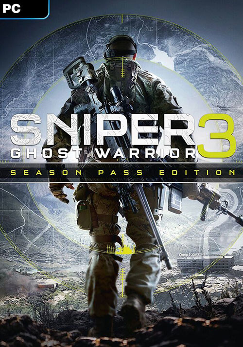 Sniper Ghost Warrior 3 - Season Pass Edition - Cover / Packshot